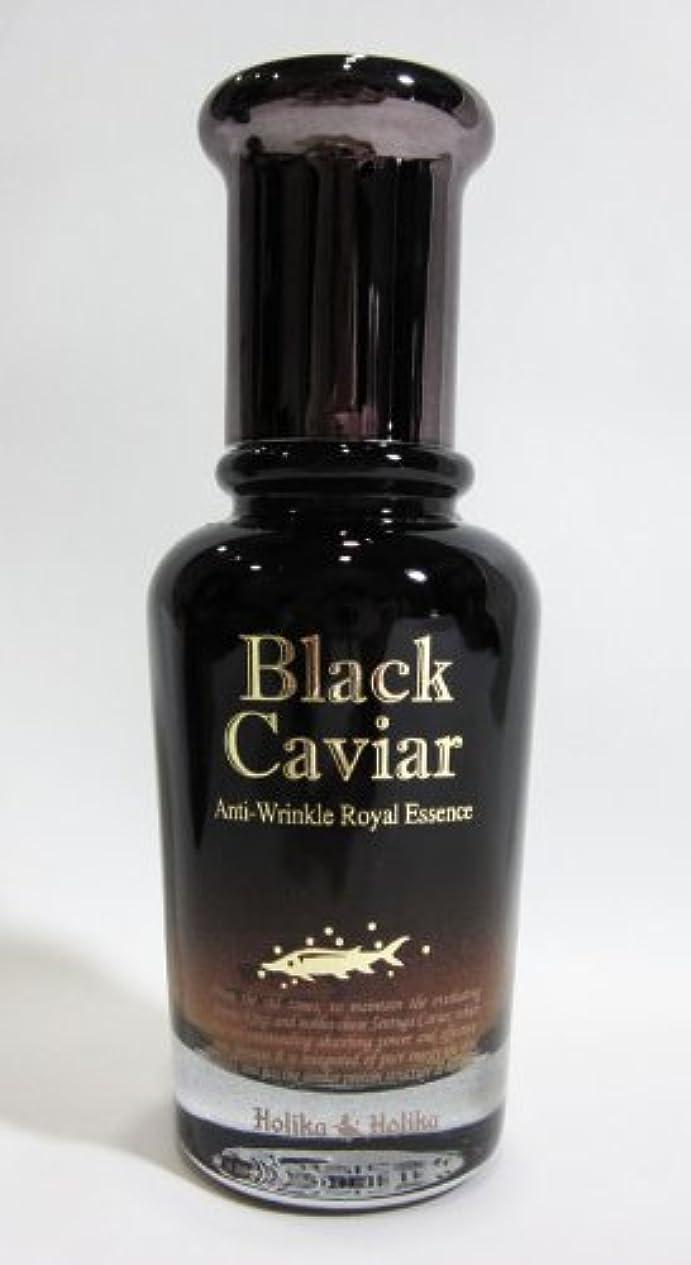 閉塞辞書食事【在庫処分◆大特価】Holika Holika ホリカホリカ ブラックキャビア アンチリンクル ロイヤルエッセンス Black Caviar Anti-Wrinkle Royal Essence