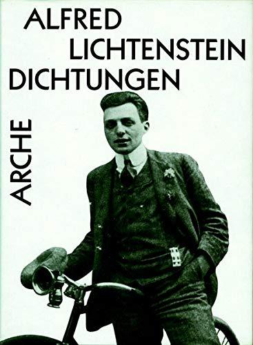 Alfred Lichtenstein Dichtungen