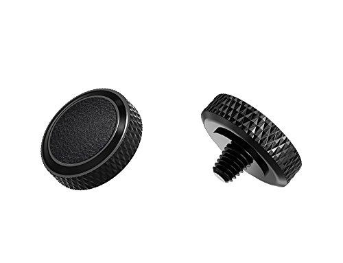 Ergonomischer Auslöser *Kupfer & Kunstleder* Auslöseknopf Soft Release Button für Fuji Fujifilm xt20 x 100f xt10 x-t2 x-pro2 x-pro1 X 100 X100s x100t x30 x 20 x10 x-e3 x-e2s (SRB-BK Black)