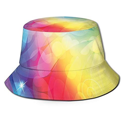 FULIYA Sombrero del conductor del violín del marinero del pescador del verano, sombrero de la bruja y libro de hechizos sobre fondo abstracto colorido de cuento de hadas magia de la bruja