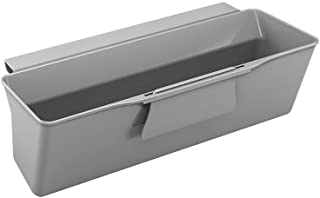 Metaltex Cesta recogedora para residuos de Cocina (35 x 16 x 13 cm) Color Gris 35x16x13 cm
