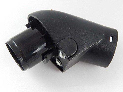vhbw apparaataansluiting slang hoeksteun aansluiting met kliksysteem voor stofzuiger Miele S426, S427, S428, S429, S430, S431 als 3982543, 3982544.