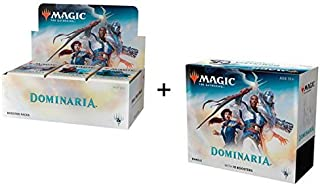 Magic Dominaria Combo: Booster Box + Bundle MTG Card Game
