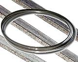 Lama di ricambio per sega a nastro rivestita con diamante, 1575 mm, per 4000.5000 seghe