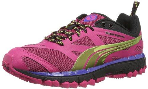 Puma Damen Faas 500 TR Wn's Laufschuhe, Pink (beetroot purple-black-sunny lime 04), 37 EU