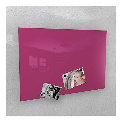 Magnético pared–color rosa brillante brillante * RAL 4010* telemagenta–3Tamaños Diferentes–40x 60cm; 50x 80cm; 60x 90cm de, gelbgrün - RAL 6018 glänzend, 50 x 80 cm