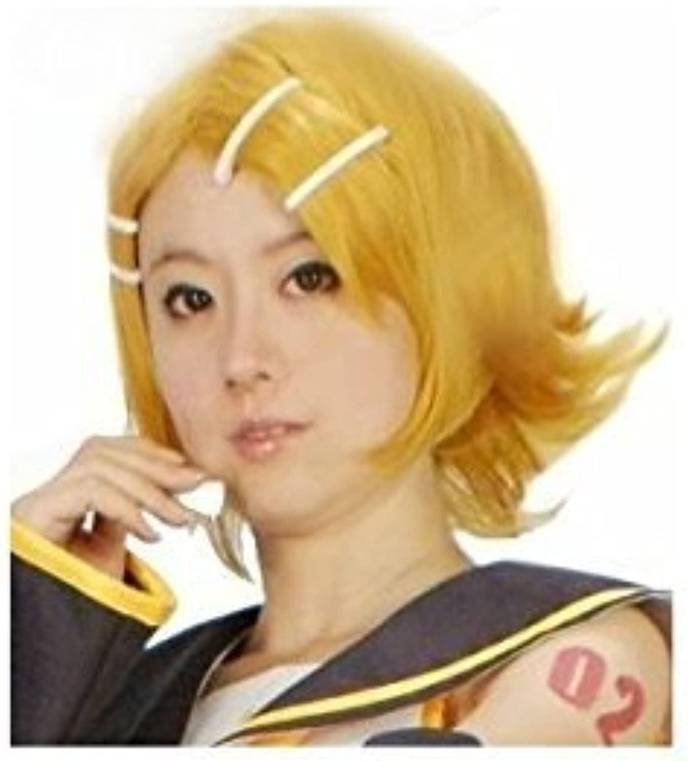 Kagamine Rin Cosplay Wig hair with a net (japan import)