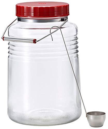 アデリア 保存瓶 ガラス クリア 4L 復刻 梅びん 日本製 721