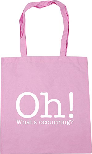 HippoWarehouse Oh! What's occurring? Tote Shopping Gym Beach Bag 42cm x38cm, 10 litres