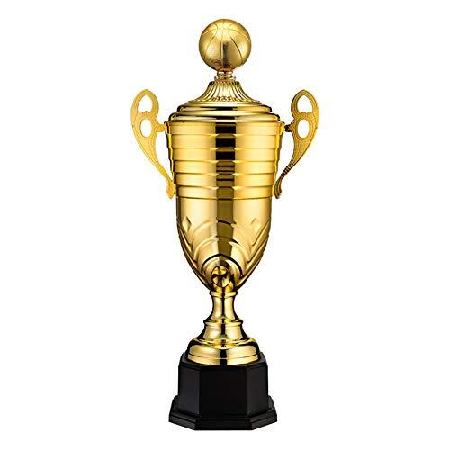 Trofeo, Premio del Caballo Dorado, Trofeo de Metal, Trofeo del Juego de Baloncesto, Trofeo Deportivo (48 cm de Alto)