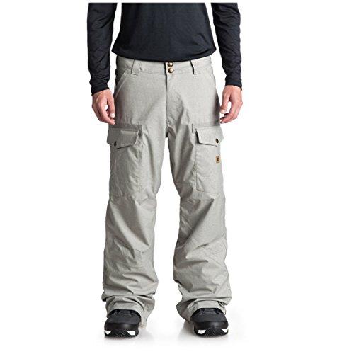 DC Men's Code Snow Pant, Neutral Gray, XL