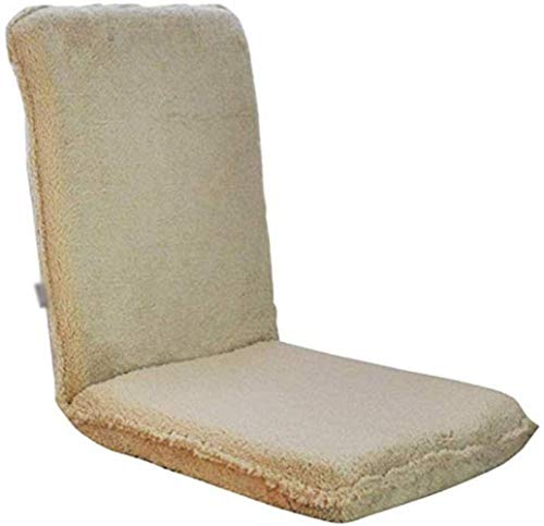 FACAIA Lazy Couch Bay Window Chair, Tatami Computer Dormitorio Silla Plegable Silla de un Solo Piso Silla de meditación Silla de Lectura Silla de Rodillas
