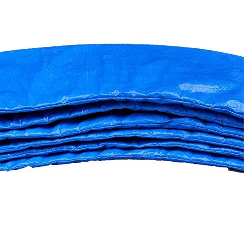 vincente Almohadillas de repuesto para cama elástica de alta calidad, para cama elástica de seguridad, acolchado envolvente, 6/8 pies, color azul