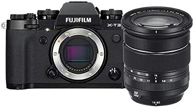 Fujifilm X-T3 Mirrorless Digital Camera w/XF16-80mm Lens Kit - Black