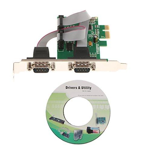 Tarjeta De Expansión En Serie con Puerto PCIe 2 PCI Express 1.0...