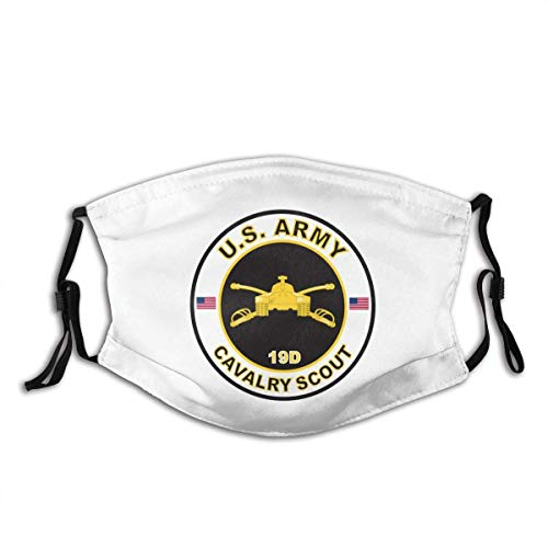 Face Cloth Army Mos 19D Cavalry Scout Face Bandanas Balaclavas Kids Adults Face Guard Reusable Adjustable Earloop Comfortable Mouth Shield For Motorcycling Camping Running