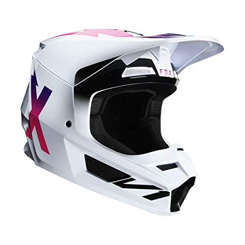 Fox Racing 2020 V1 Helmet - Werd (Small) (White)