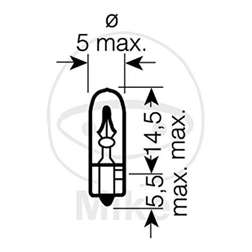 Osram 2723 Glühlampe, Instrumentenbeleuchtung