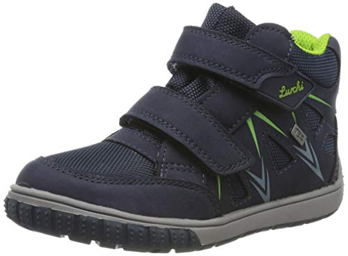 Lurchi Baby Jungen Jorge-TEX Sneaker, Blau (Navy Gras 22), 28 EU