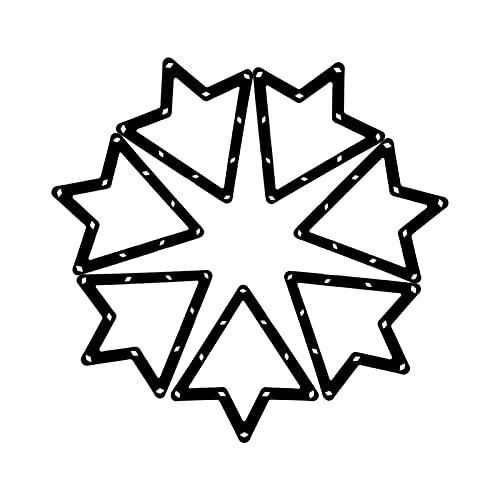 POHOVE Magic Ball-Halter, wiederverwendbar, für Billard- und Billardkugeln, dreieckig, Queue-Zubehör, Billardkugelhalter, dreieckig, für 8 und 15 Bällebad