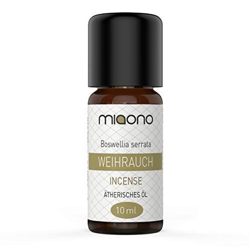 Weihrauchöl - 100% naturreines, ätherisches Öl (10ml) von miaono (Glasflasche)