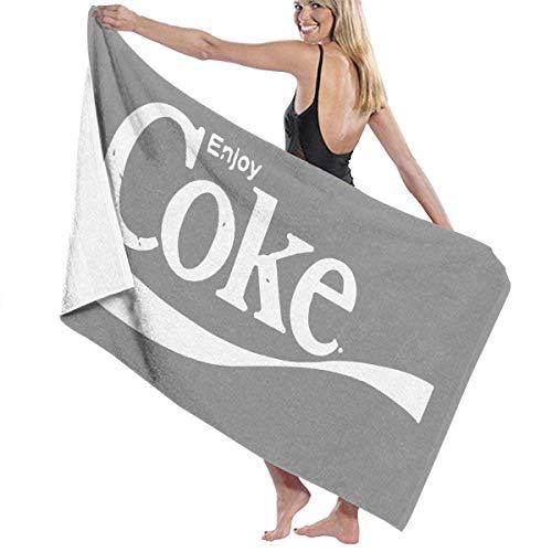 ADGoods Toallas de baño Enjoy Coke Baby Large Soft Bed Toalla de Playa Sábana Juego de baño Accesorios de baño