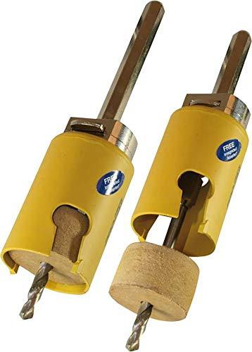 PRO-FIT Multi-Purpose-Lochsäge Ø68mm mit 50mm Nutzlänge - ohne Zentrierbohrer - mit Click&Drill Aufnahme