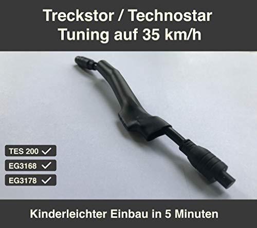 Technostar & Trekstor E-Scooter Tuning TES 200 / EG3168 / EG3178 Chip auf 35km/h