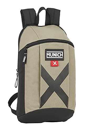Safta Mini Mochila Uso Diario de Munich Sapporo, 220x100x390 mm