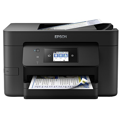 Epson WF-3720DWF WorkForce Pro Wi-Fi Printer, Scan and Copier with Fax