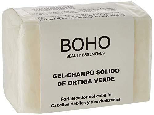 BOHO Champú Sólido Ortiga Verde Fortalecedor del Cabello Pastilla, Único, 60 G