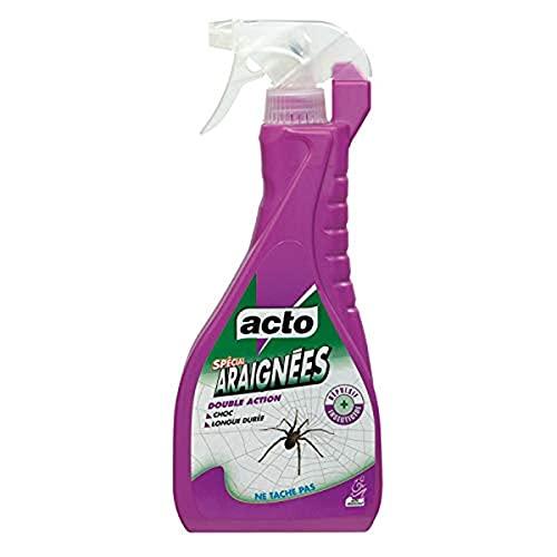 ACTO | PULVÉRISATEUR SPÉCIAL Contre toutes les araignées. | Formule prête à l'emploi | ARAI5