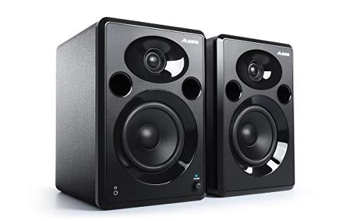 Alesis Elevate 5 MKII | Powered Desktop Studio Speakers for Home Studios/Video-Editing/Gaming and Mobile Devices (Renewed)