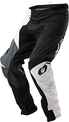 O'NEAL Mayhem Lite Split MX DH MTB Pant Hose lang schwarz/weiß/grau 2018 Oneal: Größe: 34 (50)