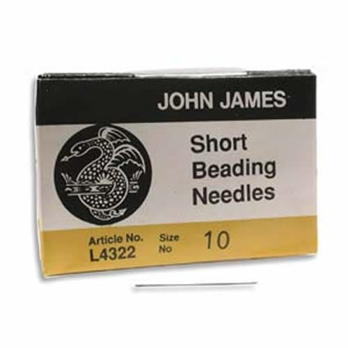 25 SIZE TEN John James English GLOVERS NEEDLES #10 Perfect for Leather!