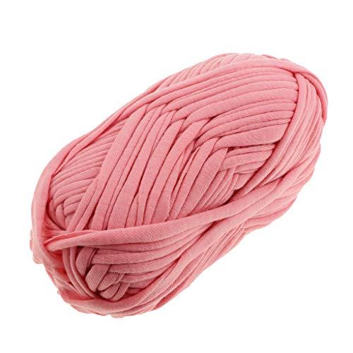 perfk 100g Textilgarn zum Häkeln und Stricken, Jerseygarn Häkelfaden für Handwerk DIY Projekte - 20