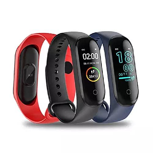M4 Pro Smart Band Termómetro nueva banda M4 Fitness Tracker ritmo cardíaco presión arterial pulsera Fitness reloj inteligente para Android iOS