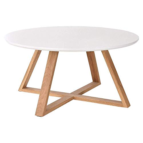 Wood Coffee Table -,Table Simple Modern Round Table Small Apartment Living Room Coffee Table Japanese Style Nordic Side Creative Small table