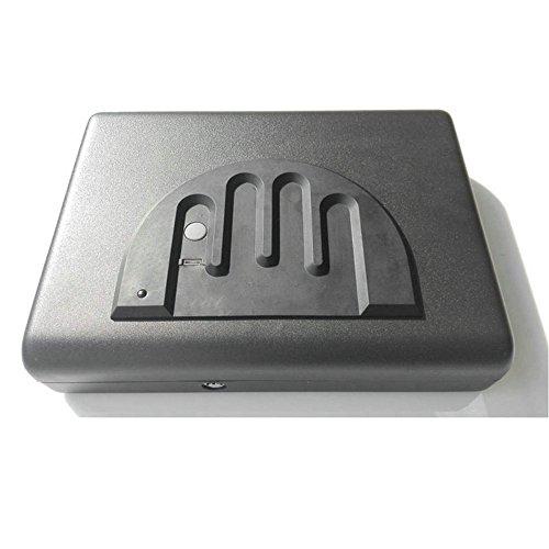 HAIT Cassaforte Portatile della Pistola della Biometrica dei Gioielli della Scatola Dell'impronta Digitale Nascosta in Automobile della Camera da Letto