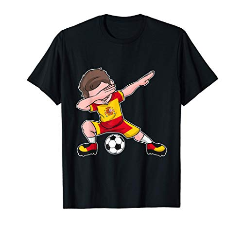 Spanien Trikot Fußball Jungen - spanische Flagge - Espana T-Shirt