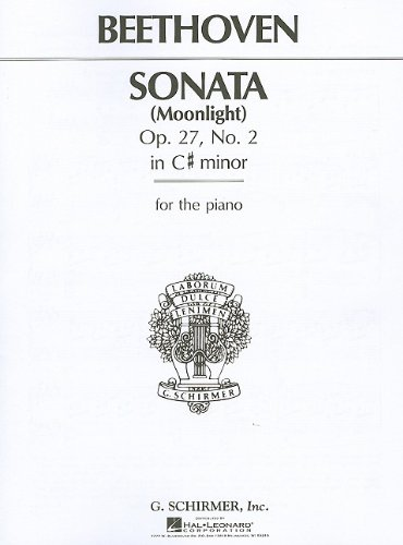 Sonata in C# Minor, Op. 27, No. 2 ('Moonlight') Complete (PIANO)