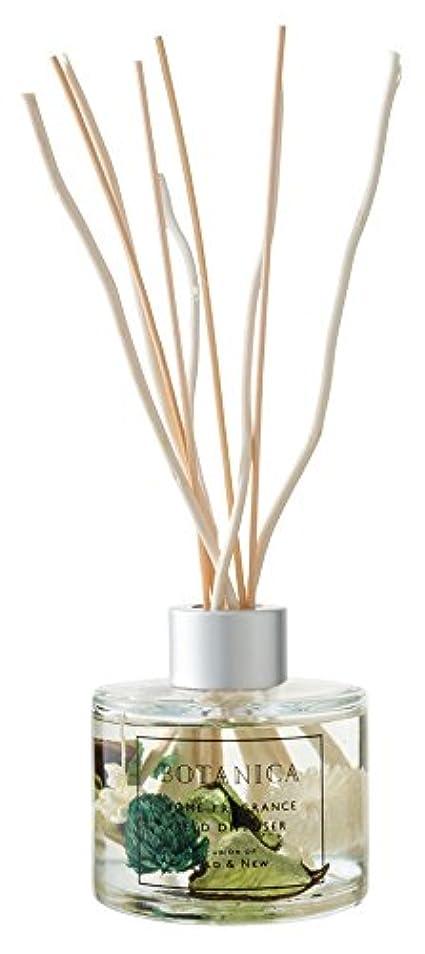減らす折る製品BOTANICA リードディフューザー グリーン(グリーンアップル GREEN APPLE) GREEN REED DIFFUSER ボタニカ old&new オールドアンドニュー