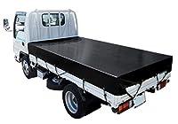The テント トラックシート 2.6m×4.1m エステルカラー帆布 モスグリーン