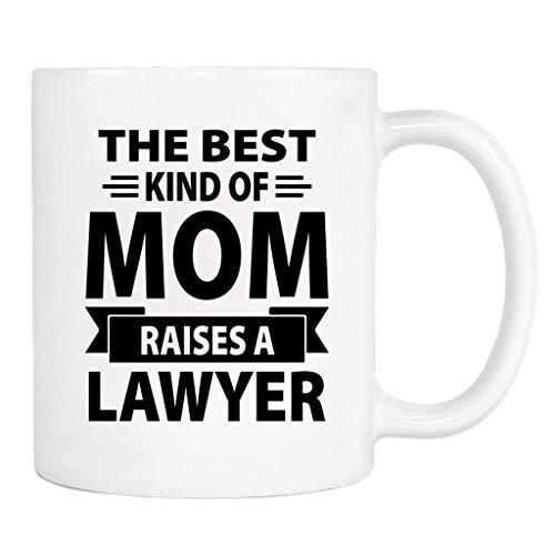 N\A Taza El Mejor Tipo de mamá cría a un Abogado - Taza - Regalo de mamá - Abogada Mamá