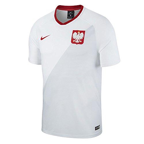 NIKE Camiseta de fútbol de Poland Home Supporters 2018-2019