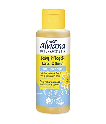 Alviana Naturkosmetik Baby Pflegeöl 100 ml