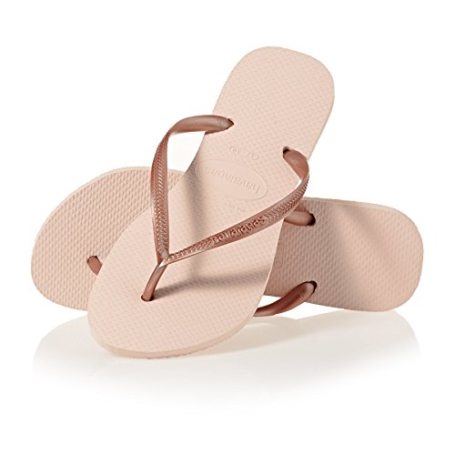 Havaianas Slim, Tongs Femme - Rose (Ballet Rose 0076), 37/ 3