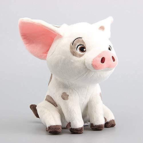 Quanshijie Juguetes de Peluche, Bicicletas de Cerdo de Mascotas, océanos, Cerdos, Regalos de cumpleaños Infantiles, Regalos, Modelos, Adornos para el hogar