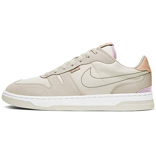 Nike Squash-Type, Chaussure de Tennis Homme, Sail/Lt Orewood BRN-Shimmer-Iced Lilac-White, 40 EU