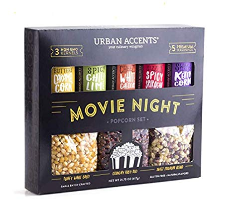 Urban Accents MOVIE NIGHT Popcorn Kernels and Popcorn...